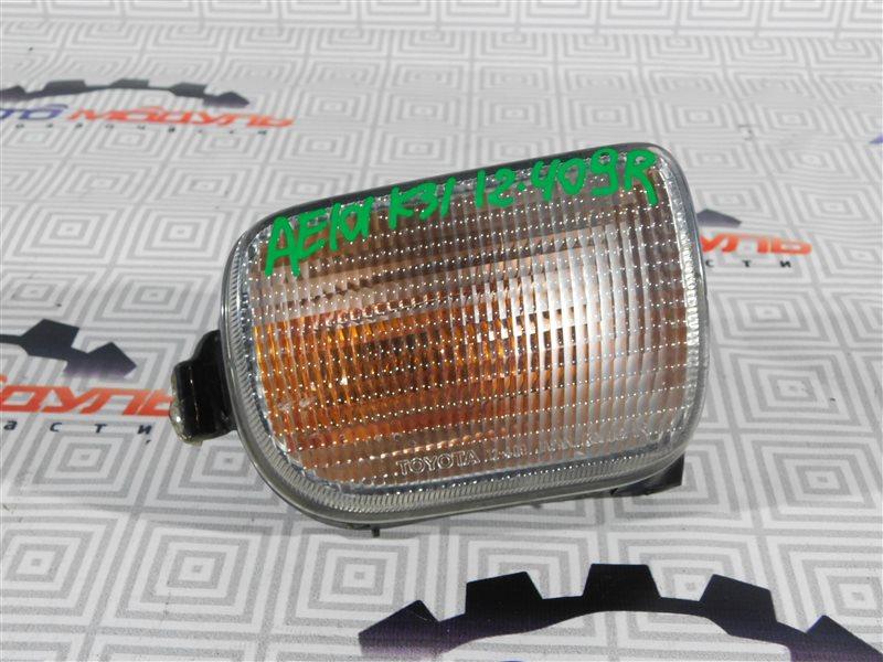 Повторитель бамперный Toyota Corolla Ceres AE101-5295716 4A-FE 1996 правый