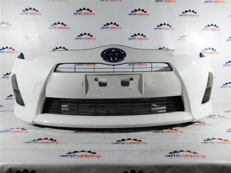Бампер Toyota Aqua NHP10-6102815 1NZ-FXE 2012 передний