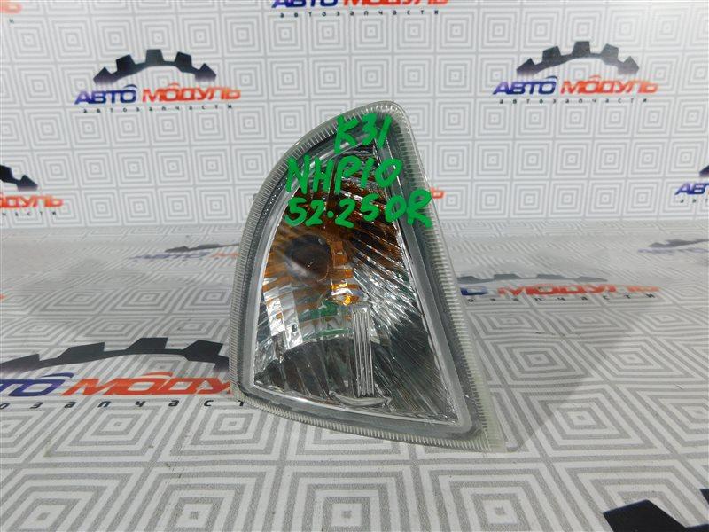 Повторитель бамперный Toyota Aqua NHP10-6102815 1NZ-FXE 2012 правый