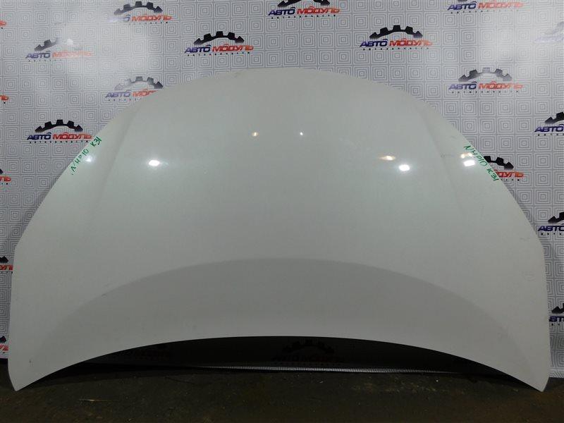 Капот Toyota Aqua NHP10-6102815 1NZ-FXE 2012