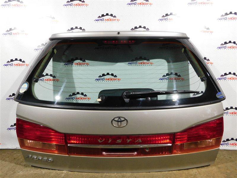 Дверь 5-я Toyota Vista Ardeo ZZV50-0039998 1ZZ-FE 2001 задняя