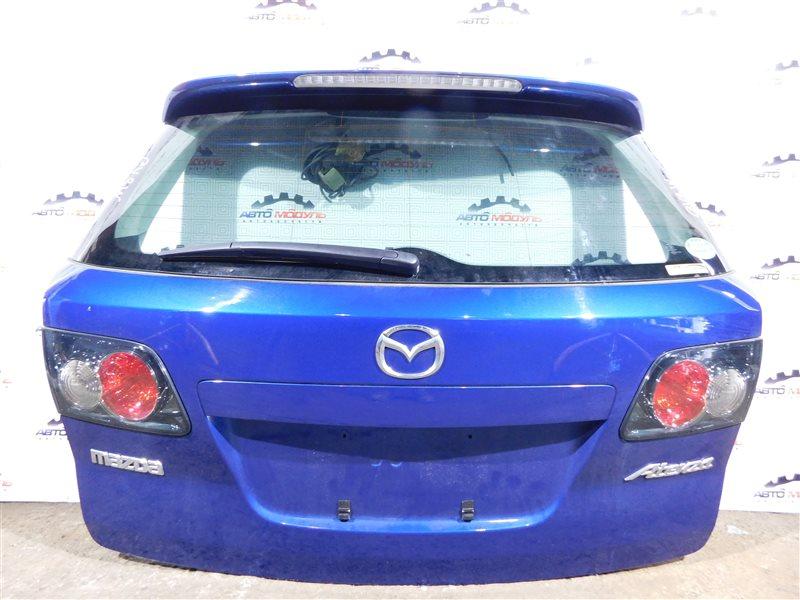 Дверь 5-я Mazda Atenza GY3W-504025 L3 2006 задняя