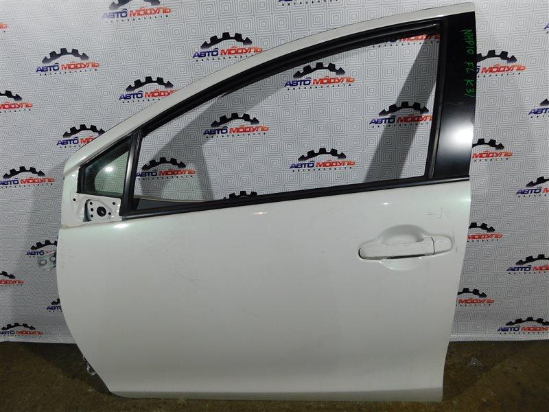 Дверь Toyota Aqua NHP10-6102815 1NZ-FXE 2012 передняя левая