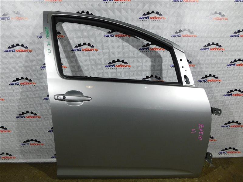 Дверь Toyota Wish ZNE10-0384836 1ZZ-FE 2007 передняя правая