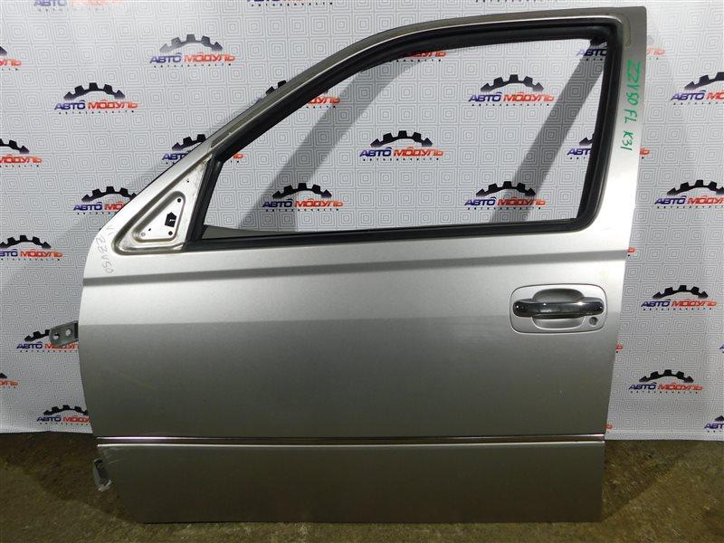 Дверь Toyota Vista Ardeo ZZV50-0039998 1ZZ-FE 2001 передняя левая