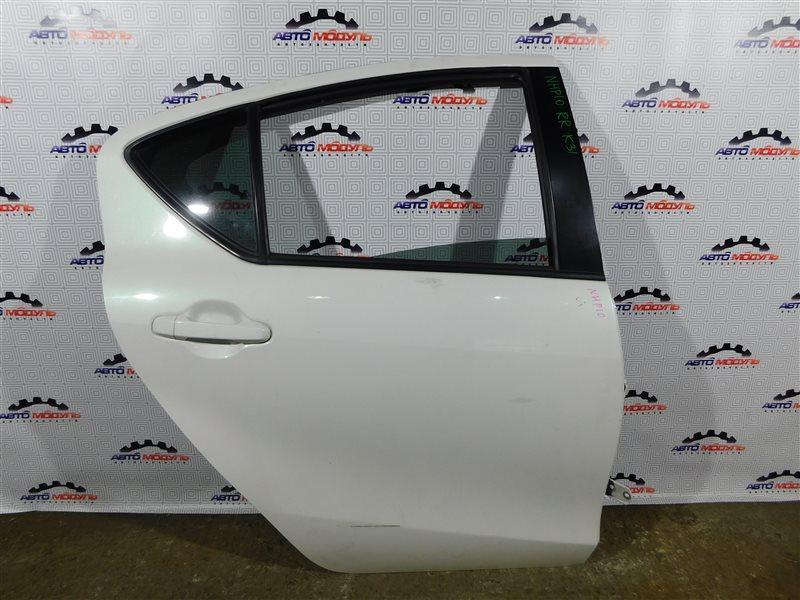 Дверь Toyota Aqua NHP10-6102815 1NZ-FXE 2012 задняя правая