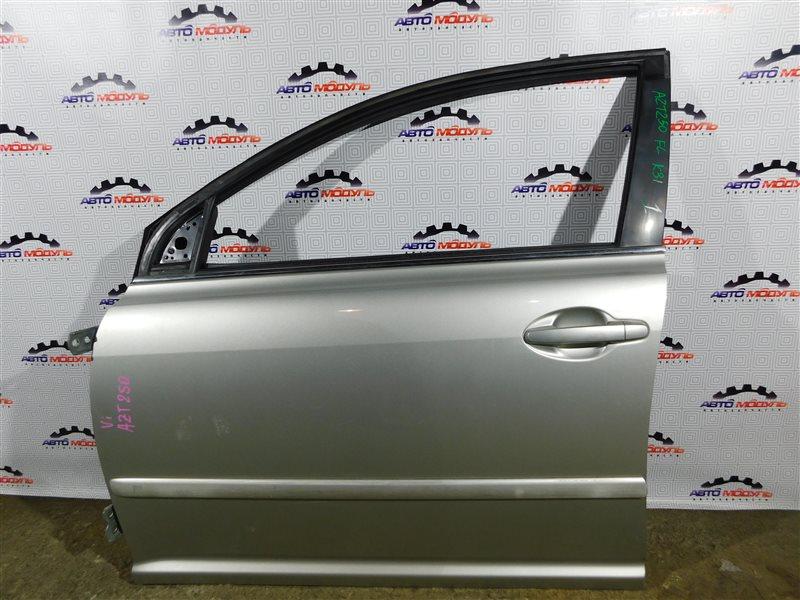 Стекло двери Toyota Avensis AZT250-0008342 1AZ-FSE 2003 переднее левое