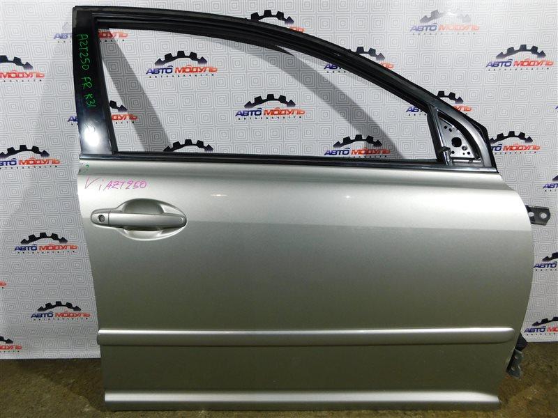 Стекло двери Toyota Avensis AZT250-0005209 1AZ-FSE 2003 переднее правое