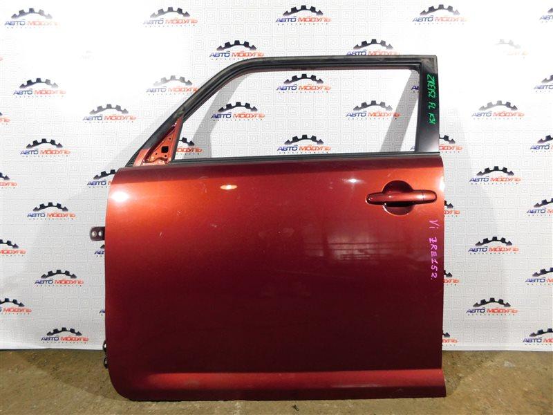 Стекло двери Toyota Corolla Rumion ZRE152-1108791 2ZR-FE 2009 переднее левое