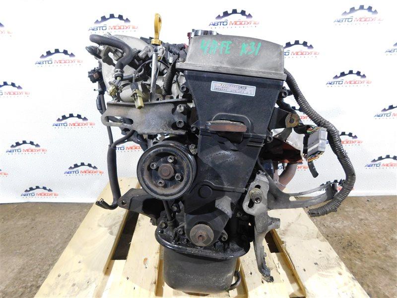 Двигатель Toyota Corolla Ceres AE101-5295716 4A-FE 1996