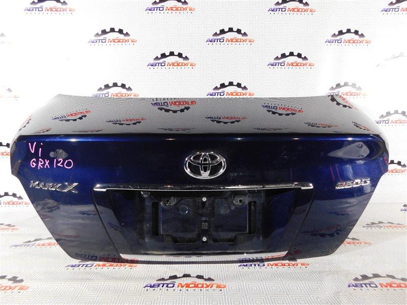 Крышка багажника Toyota Mark X GRX120-0044217 4GR-FSE 2005 задняя