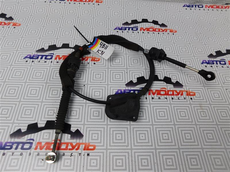 Трос переключения акпп Mitsubishi Lancer X CY4A-0111586 4B11 2008