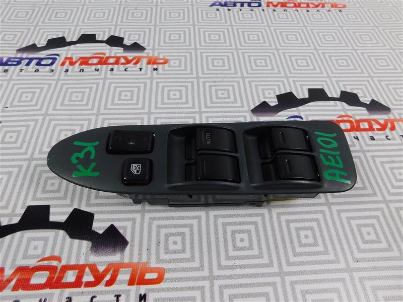 Блок упр. стеклоподьемниками Toyota Corolla Ceres AE101-5295716 4A-FE 1996 передний правый