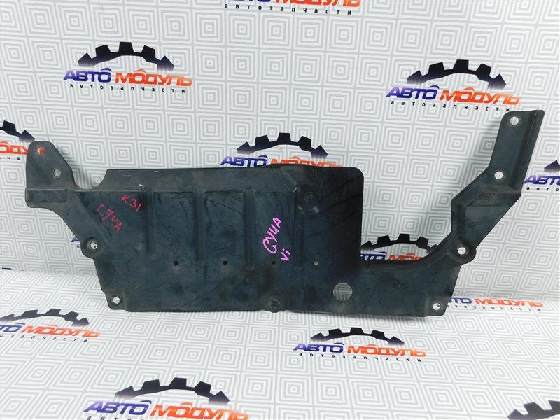 Защита двигателя Mitsubishi Lancer X CY4A-0111586 4B11 2008 задняя