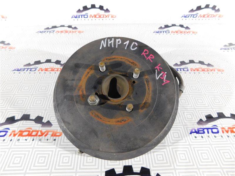 Барабан тормозной Toyota Aqua NHP10-6102815 1NZ-FXE 2012 задний
