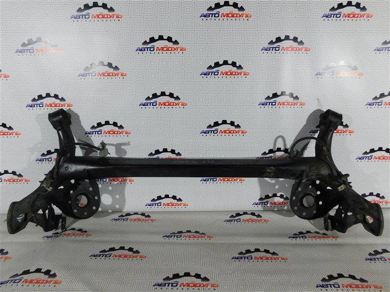 Балка подвески Toyota Aqua NHP10-6102815 1NZ-FXE 2012 задняя
