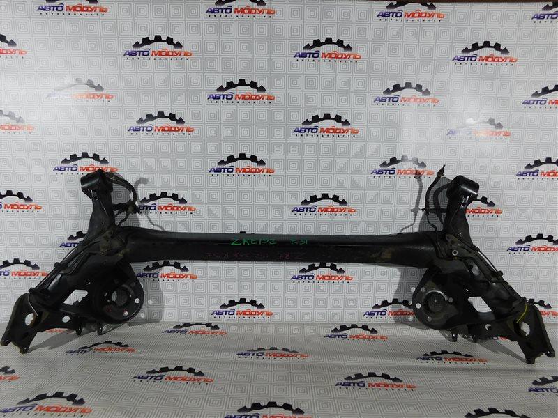 Балка подвески Toyota Corolla Rumion ZRE152-1108791 2ZR-FE 2009 задняя