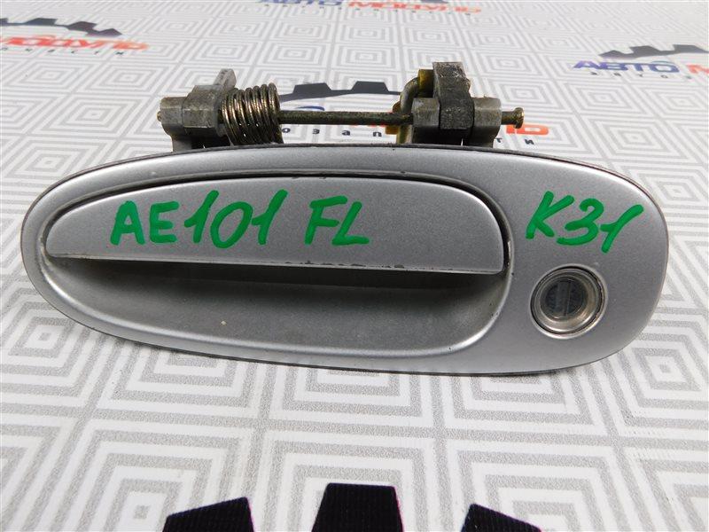 Ручка двери Toyota Corolla Ceres AE101-5295716 4A-FE 1996 передняя левая