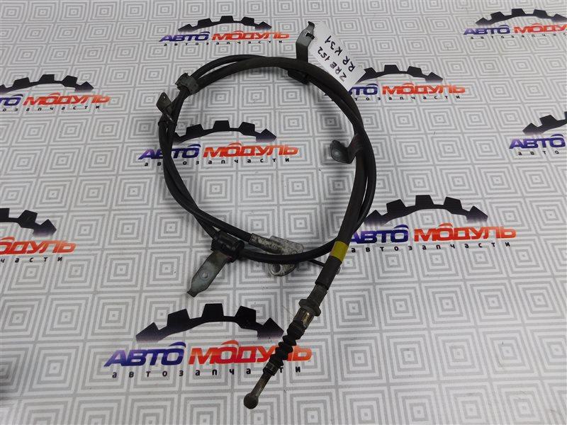 Тросик ручника Toyota Corolla Rumion ZRE152-1108791 2ZR-FE 2009 задний правый