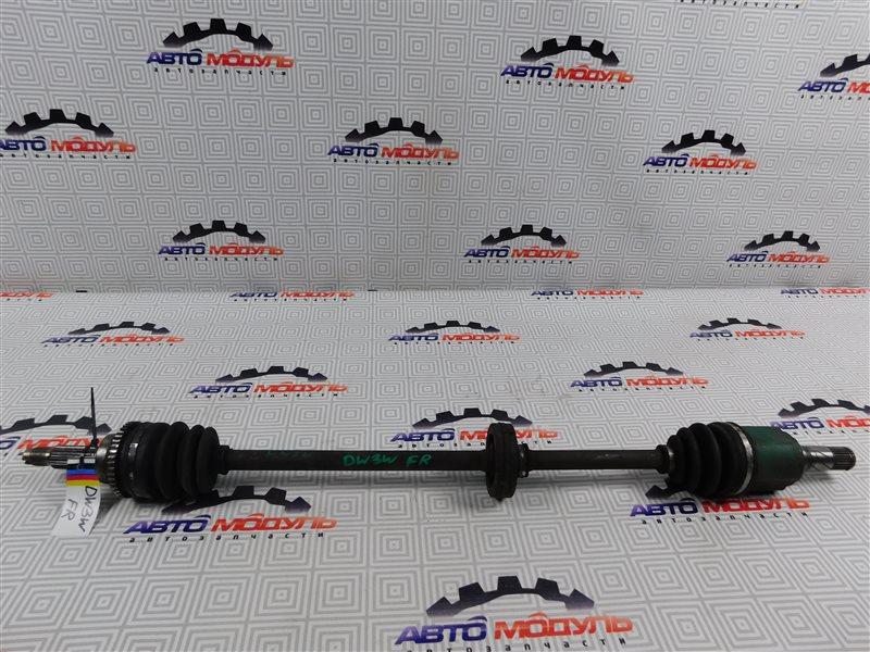 Привод Mazda Demio DW3W B3 передний правый