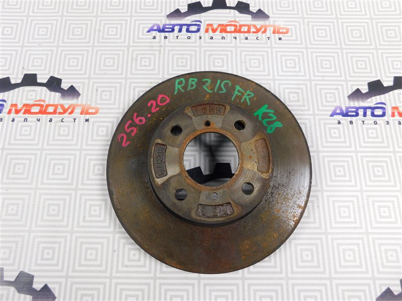 Диск тормозной Suzuki Aerio RA21S передний