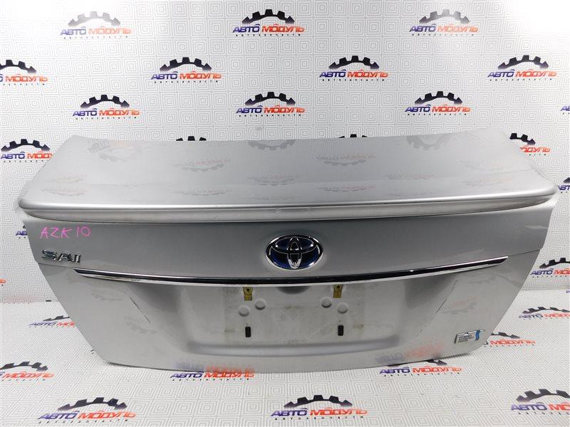 Крышка багажника Toyota Sai AZK10-2010787 2AZ-FXE 2010 задняя