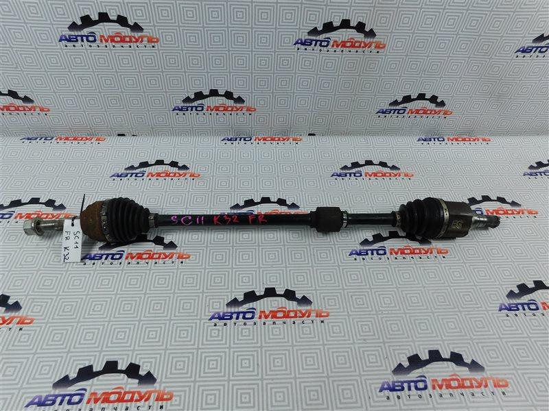 Привод Nissan Tiida Latio SC11 HR15 передний правый
