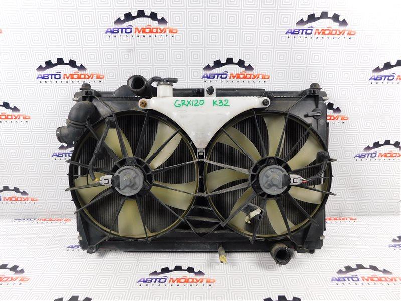 Радиатор основной Toyota Mark X GRX120 2GR