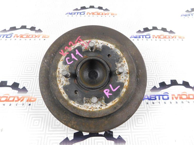 Барабан тормозной Nissan Tiida C11 задний