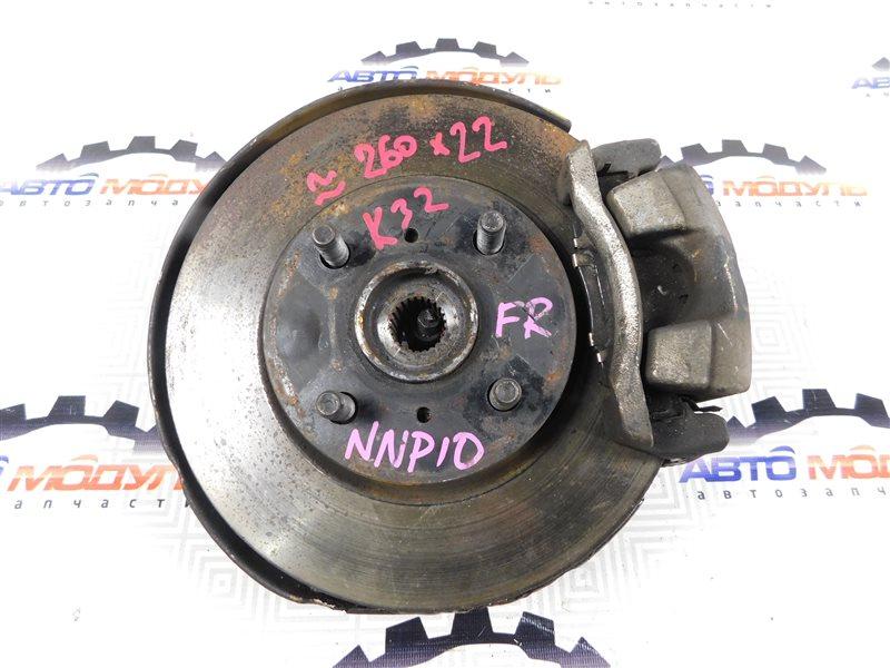 Ступица Toyota Porte NNP10 1NZ передняя правая