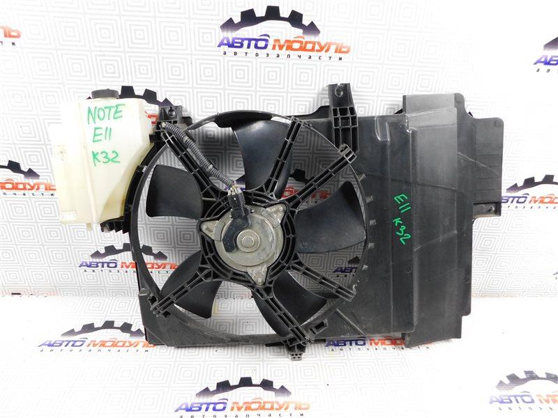Диффузор радиатора Nissan Note E11