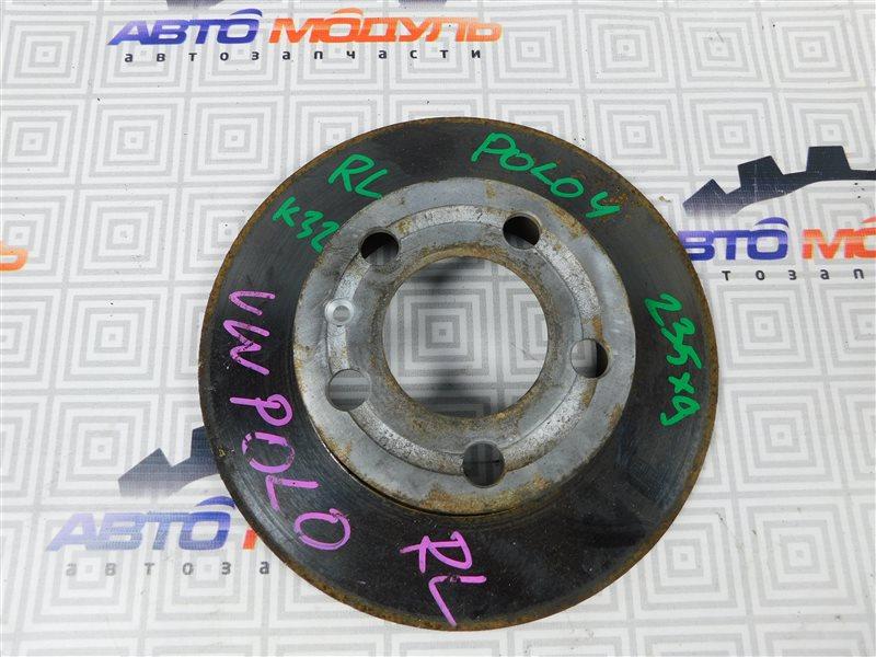 Диск тормозной Volkswagen Polo 9N1 задний