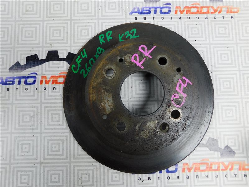 Диск тормозной Honda Accord CF3 F18B задний