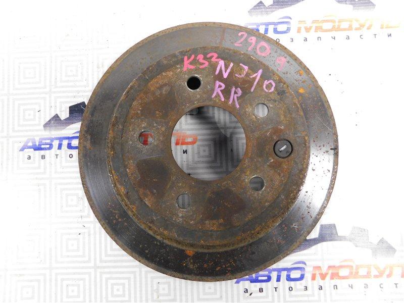 Диск тормозной Nissan Qashqai NJ10 MR20 задний