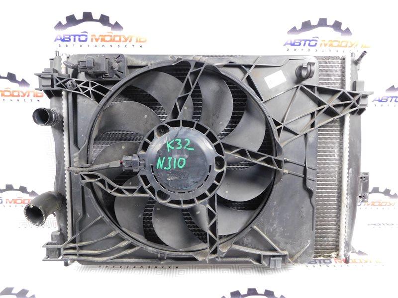Радиатор основной Nissan Qashqai NJ10 MR20