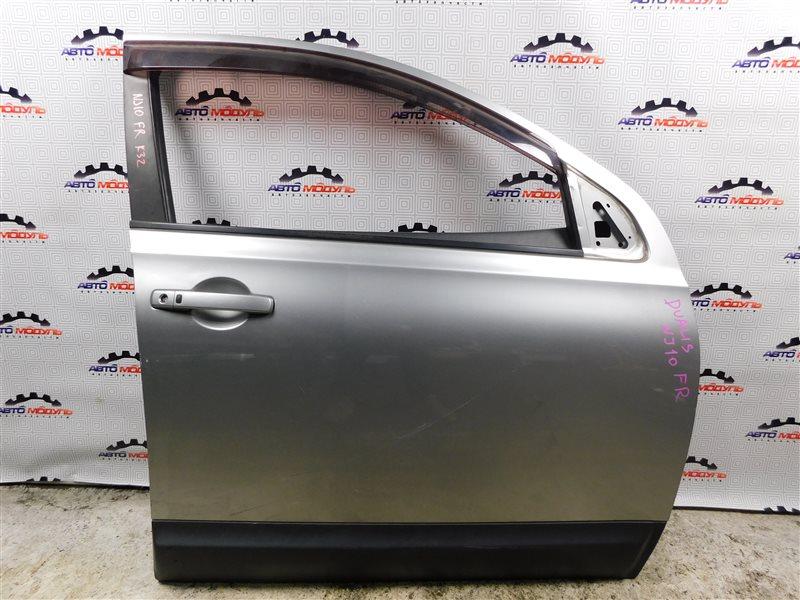 Стекло двери Nissan Qashqai NJ10 MR20 переднее правое