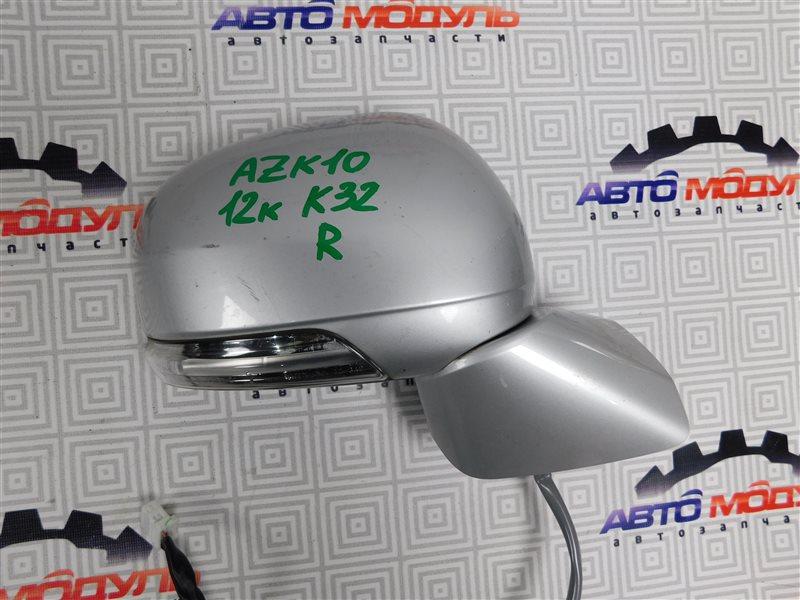 Зеркало Toyota Sai AZK10-2010787 2AZ-FXE 2010 правое