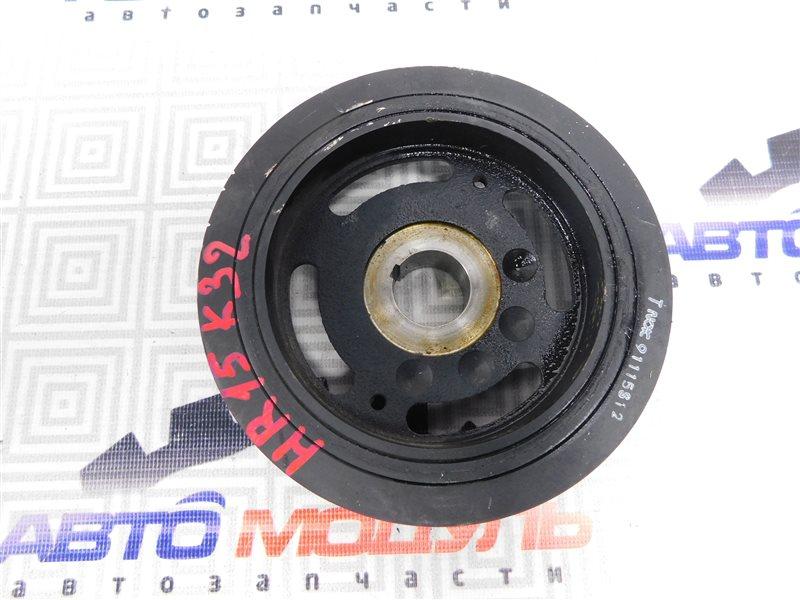Шкив коленвала Nissan Tiida Latio SC11 HR15