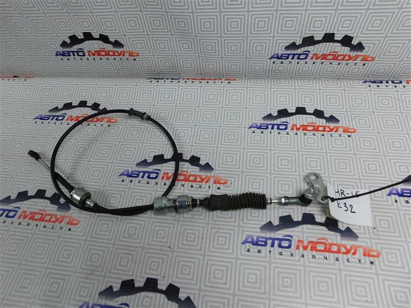 Трос переключения акпп Nissan Tiida Latio SC11 HR15-DE