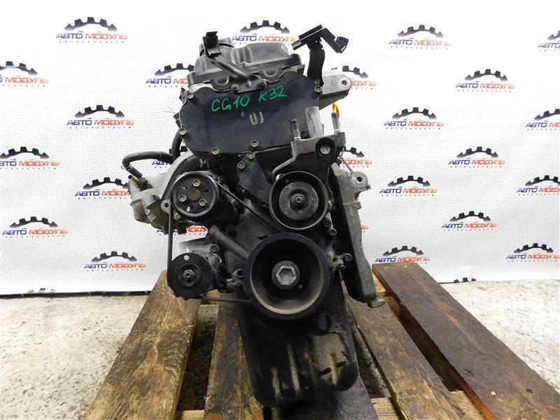 Двигатель Nissan March K11 CG10-DE