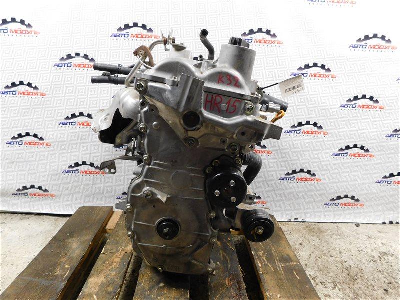 Двигатель Nissan Tiida Latio SC11 HR15-DE