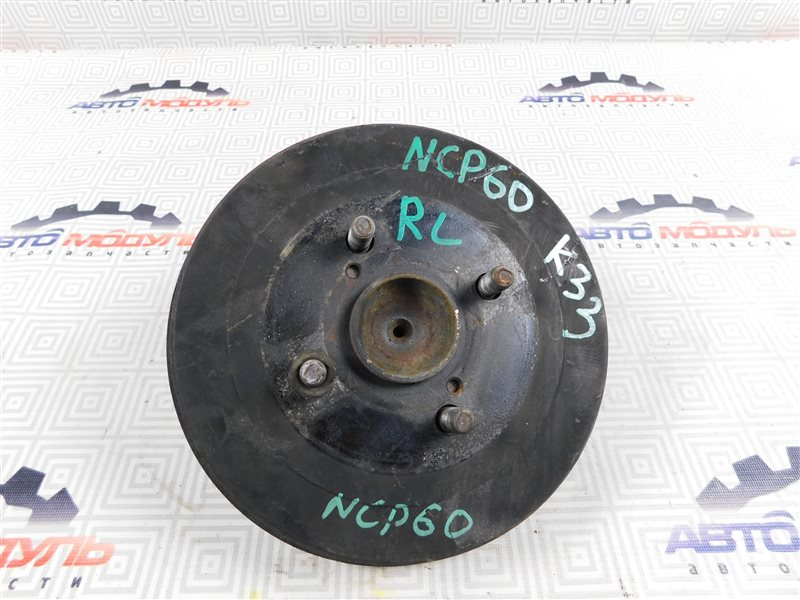 Барабан тормозной Toyota Ist NCP60 задний