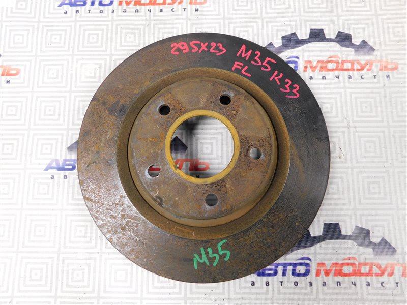 Диск тормозной Nissan Stagea M35 передний