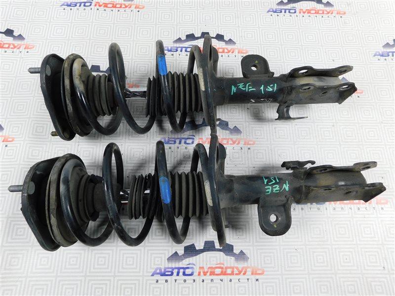 Стойка Toyota Auris NZE151-1052312 1NZ-FE 2008 передняя правая