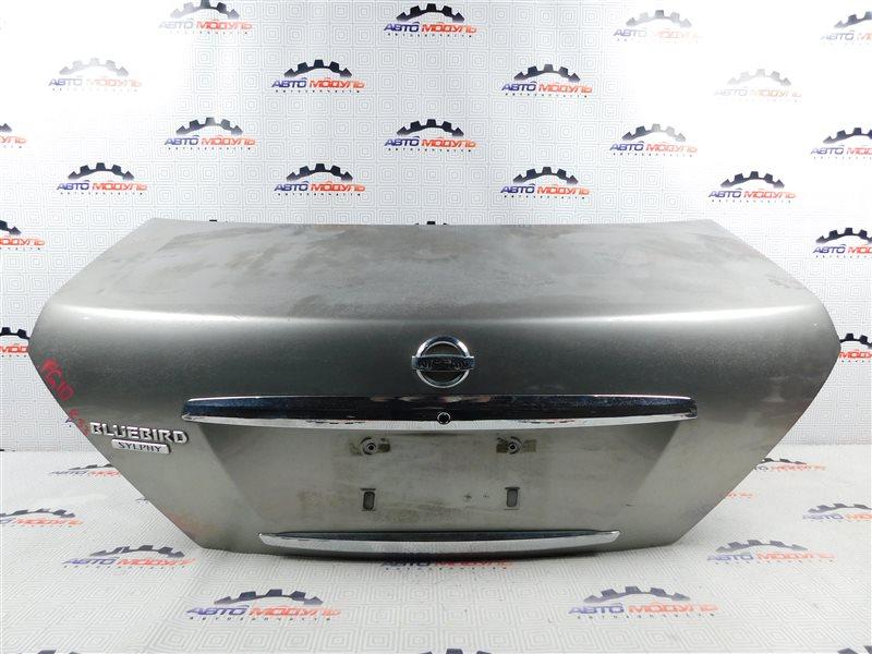 Крышка багажника Nissan Bluebird Sylphy FG10-126091 QG15 2003 задняя