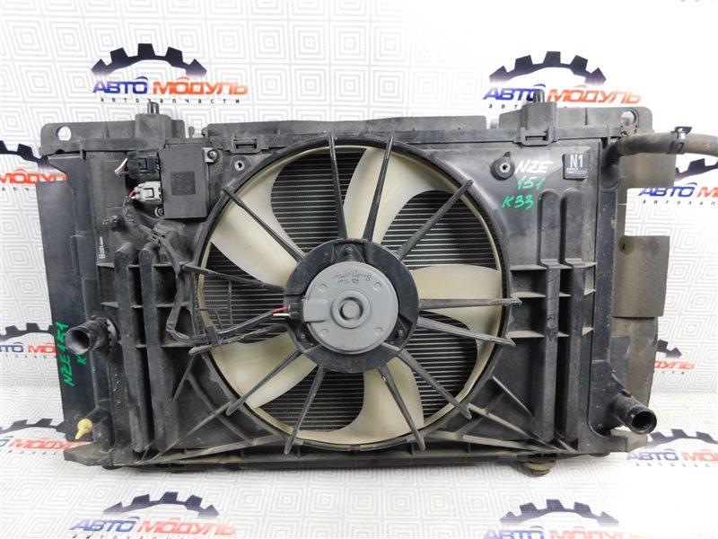 Радиатор основной Toyota Auris NZE151-1052312 1NZ-FE 2008