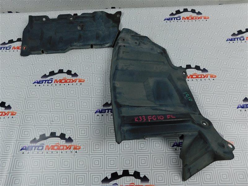 Защита двигателя Nissan Bluebird Sylphy FG10-126091 QG15 2003 передняя левая