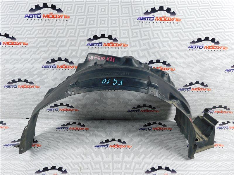 Подкрылок Nissan Bluebird Sylphy FG10-126091 QG15 2003 передний правый