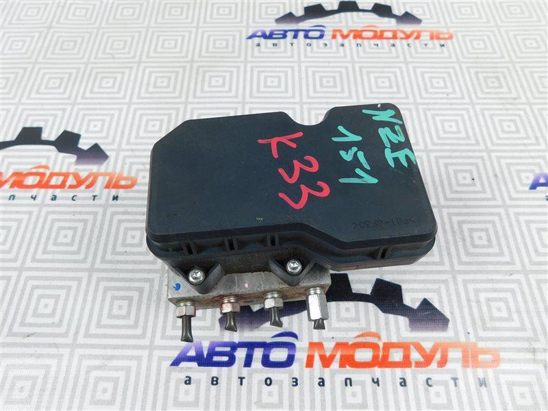 Блок abs Toyota Auris NZE151-1052312 1NZ-FE 2008