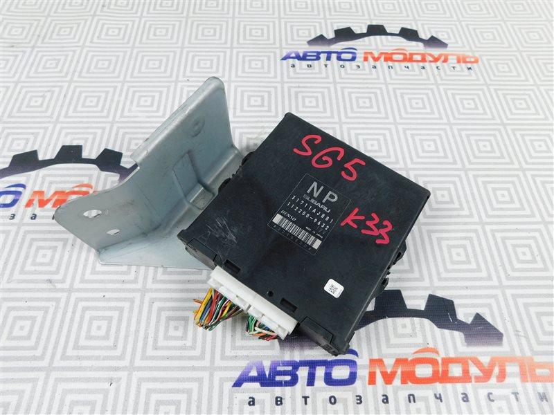Блок управления акпп Subaru Forester SG5-098634 EJ203 2005